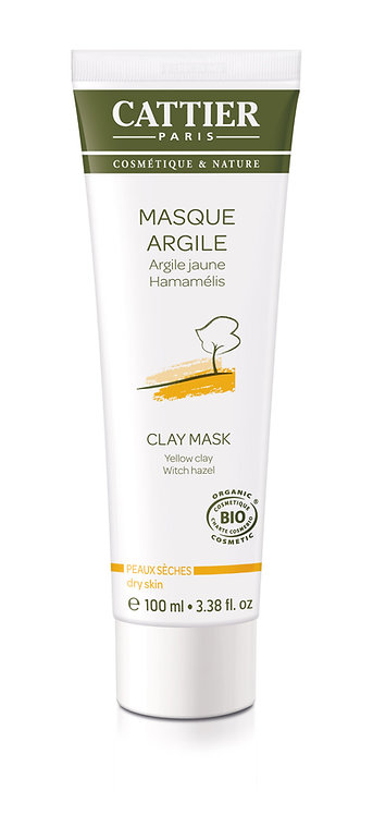 Masque Argile Jaune | Cattier Paris | 100 ml