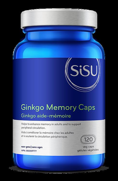 Ginkgo - aide-mémoire | Sisu | 120 capsules
