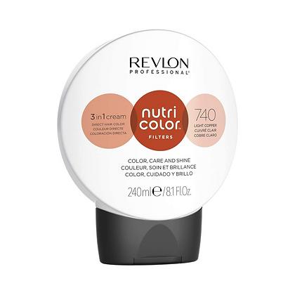 Traitement   Nutri color 740 - Cuivré Clair   Revlon