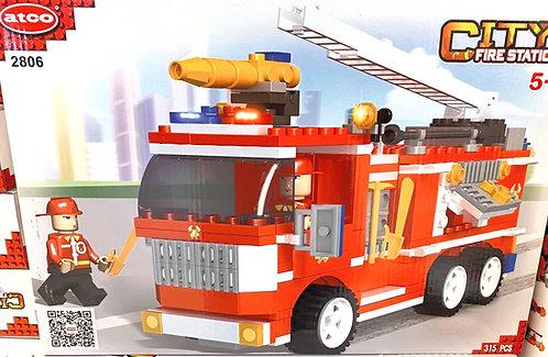 Lego ATCO   Station de pompiers   315 mcx