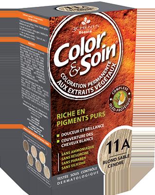 Teinture - Blond Sable Cendré 11A | 3 Chênes | 135 ml