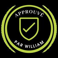 Logo | Approuvé par William