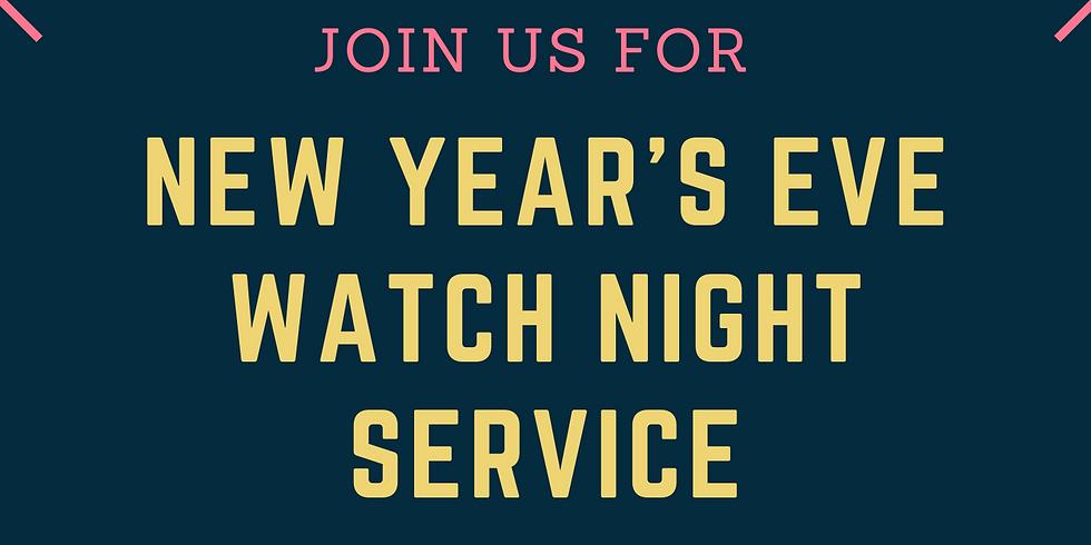 New Year's Eve Watch Night Service