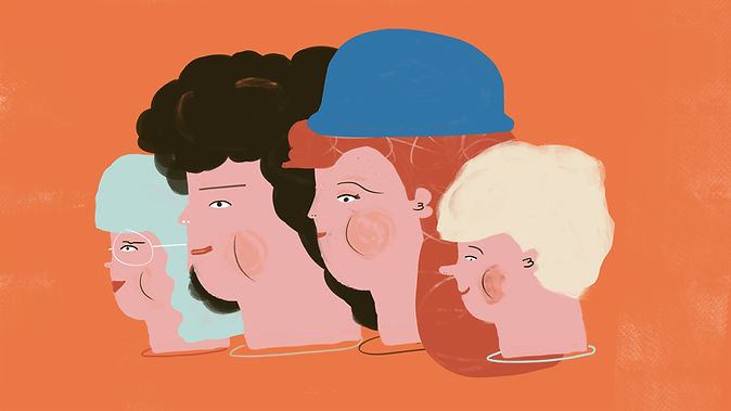 Familia ilustrada