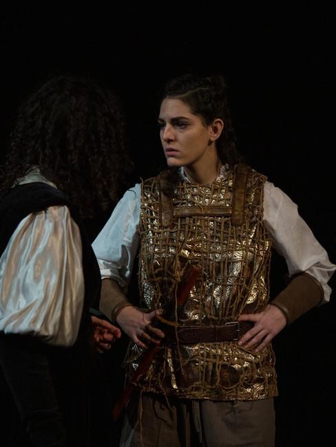 """Macbeth"", Samantha Ipema as 'Lennox'"