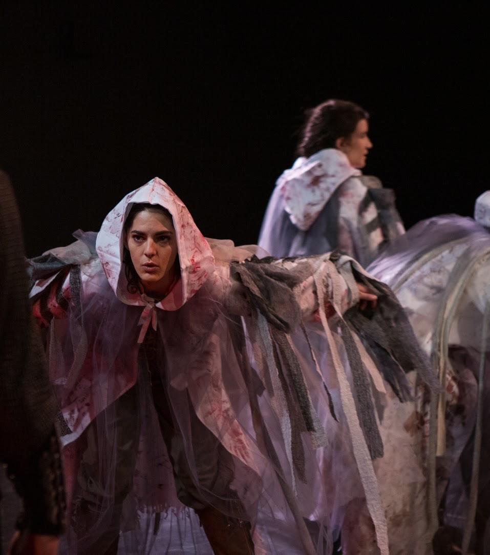 """Macbeth"", Samantha Ipema as 'Witch'"
