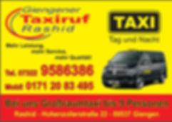 giengen taxiruf rashid, giengener taxiruf, taxiruf giengen, taxiruf rashid, giengen taxi
