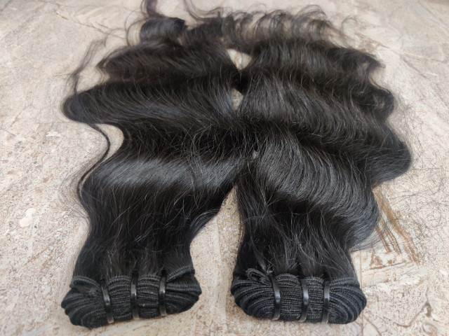 Indian human hair extensions from south India