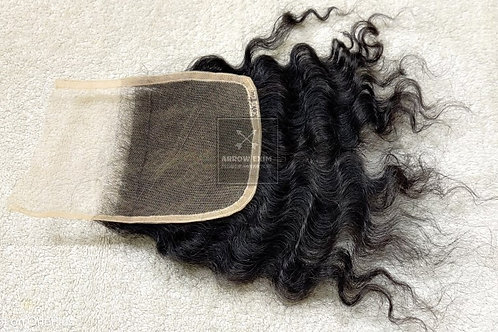 HD lace closure curly