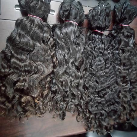 Curly Virgin Hair Extension