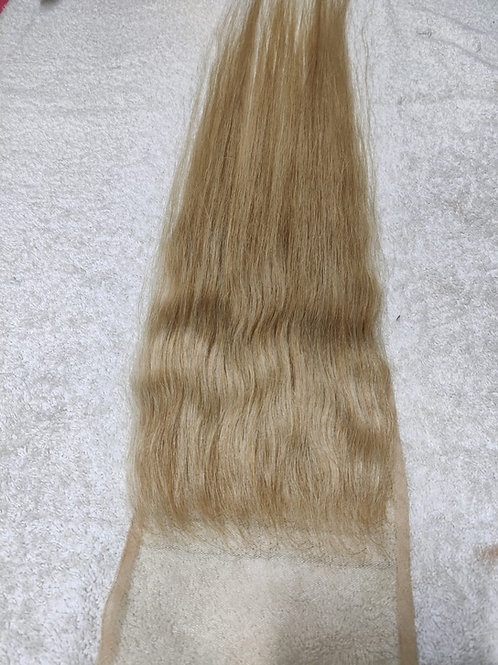Honey Blonde swiss lace Closure