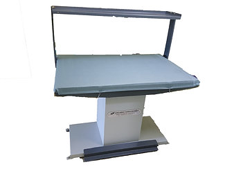 Steps vacuum iron table