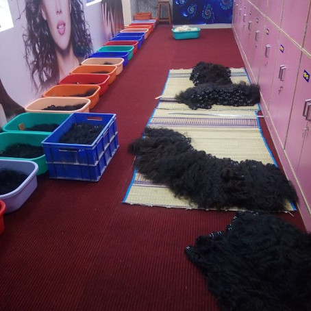 Wholesale Raw Human Hair Factory