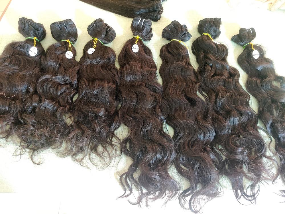 Brazilian Virgin Human Hair Bundles Straight/Body/Deep/Curly Wave Extensions