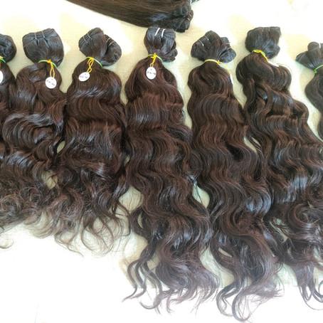 Indian Virgin Human Hair Bundles Straight/Body/Deep/Curly Wave Extensions