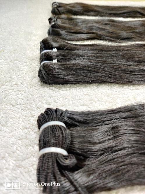 straight temple hair