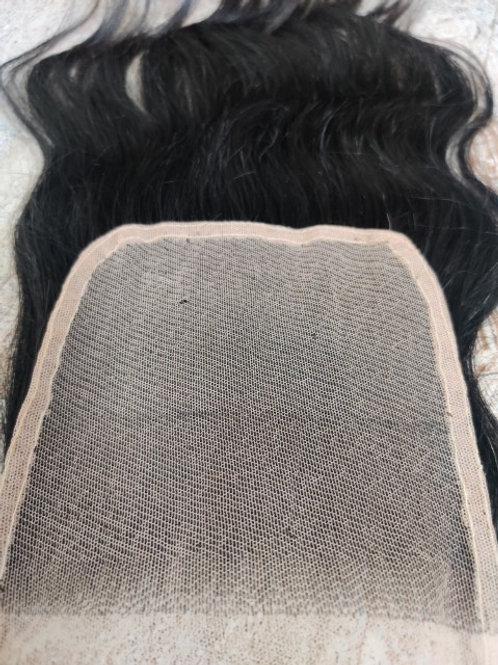 Wavy Transparent Lace Closure