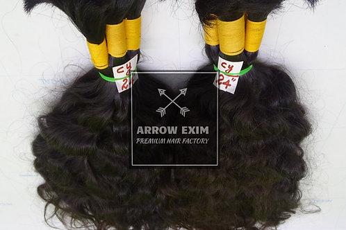 Deep Curly Bulk Hair Extensions