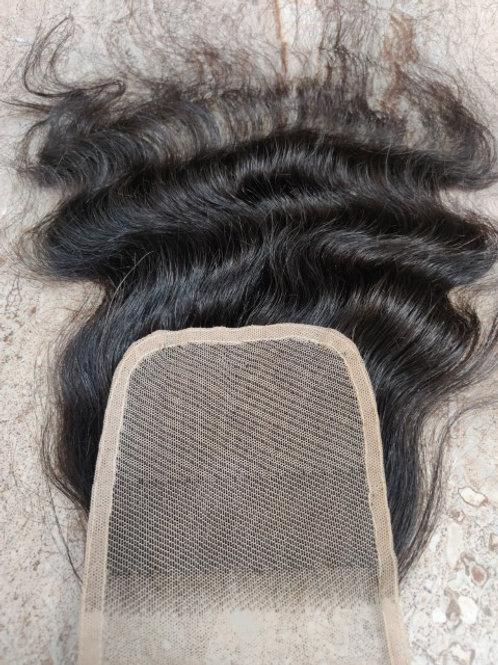 Curly Transparent Lace Closure