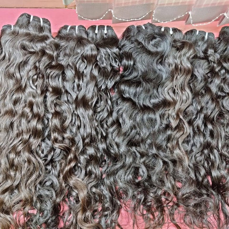 Organic human hair supplier from south India