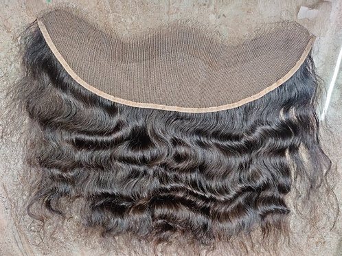 Curly Transparent lace frontal