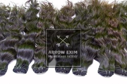 Virgin Wavy hair from india