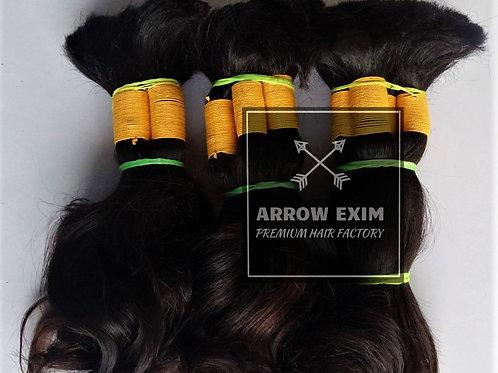 Wavy Bulk Hair Extensions
