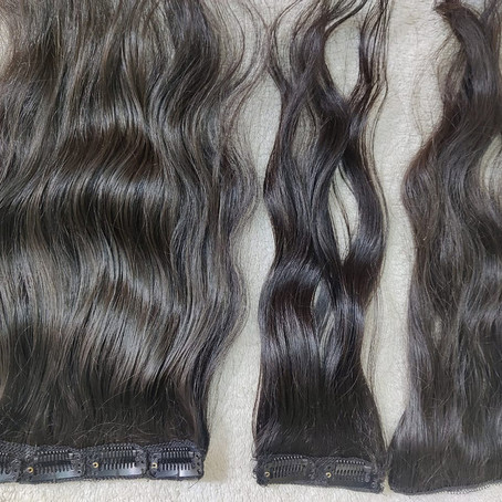 Indian human hair extension supplier from South India