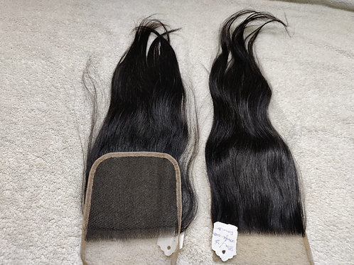 Swiss Lace Closure Straight hair