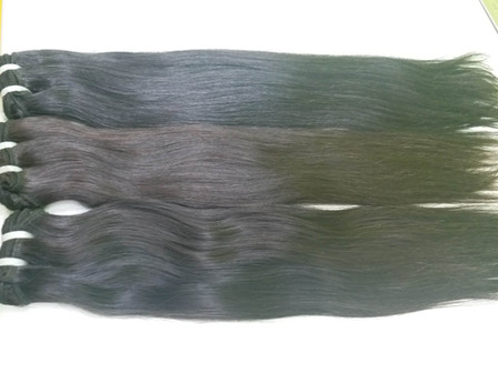 Malaysian hair extensions - straight wef