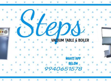 Vacuum Table & Boiler