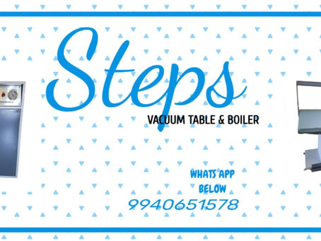 Vacuum Table & Boiler