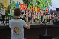 Concert avec les t-shirts