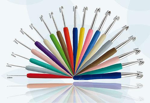 """Крючок для вязания с эргономичной ручкой """"Waves"""""""