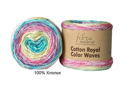 Cotton Royal Color Waves Fibra Natura
