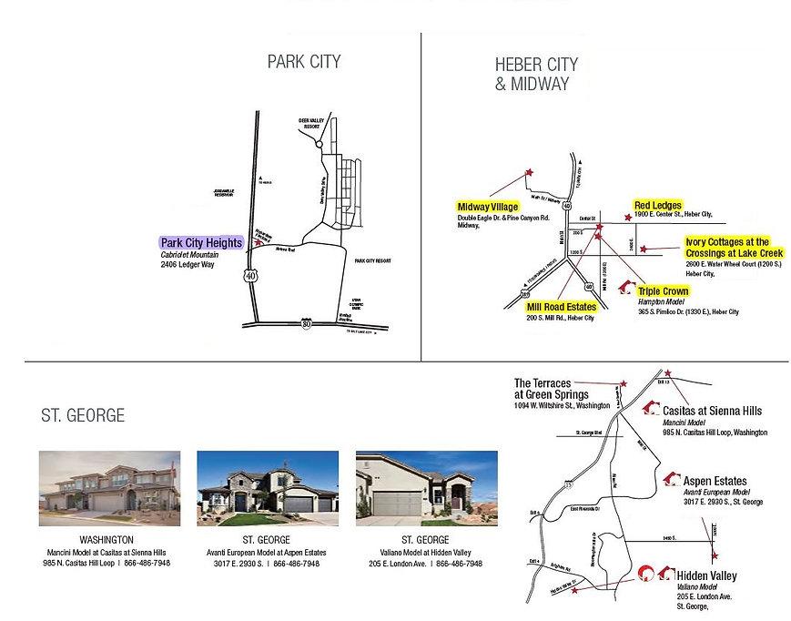 map of park city heber city