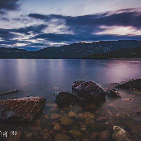 Loch Ness at Sunset