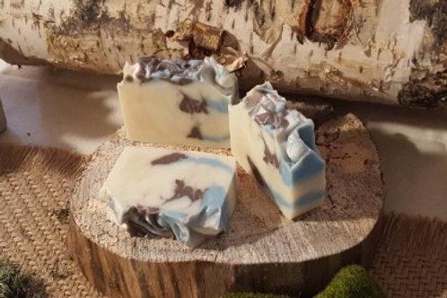 Pinecones & Amber Soap