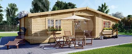 casa de madera modelo fill 60 m2