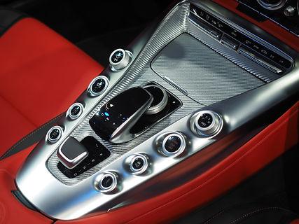 automatic gear shift panel of super spor