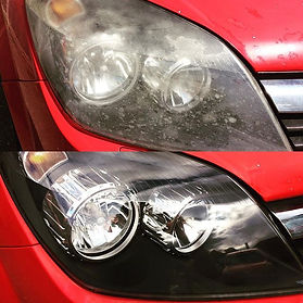 Headlight restoration refurbishment sheffield car detailing