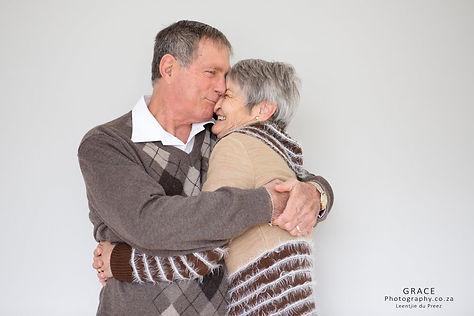 Beautiful older couple photography