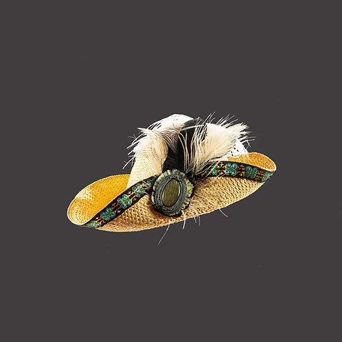 Natuur Unisex hoed (piratenhoed)