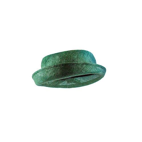Stemmige hoed met veer