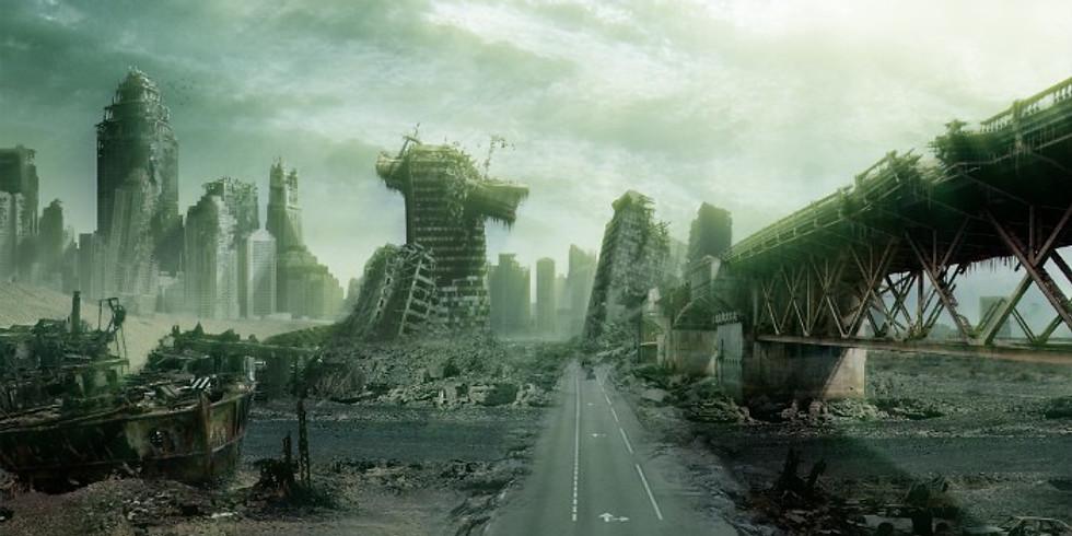 Post apocalyptische fotoshoot