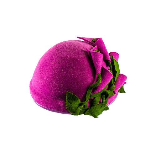 Antracietgrijze Dames hoed