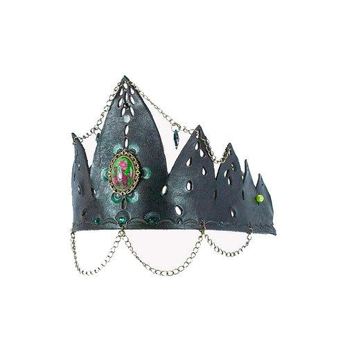 Zwartbruine Unisex kroon
