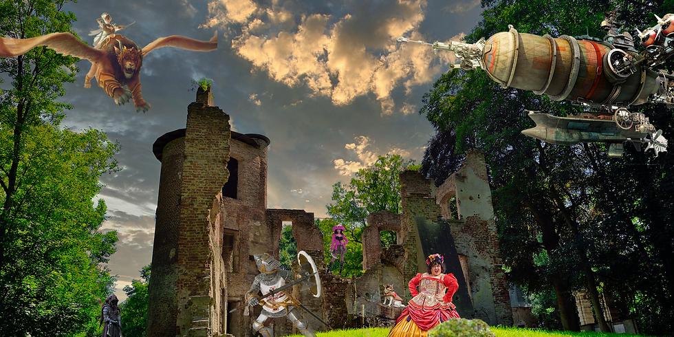 Fantasy treffen fotoshoot
