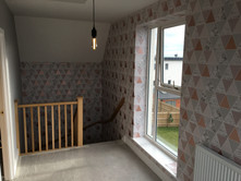 Hallway, stairs and landing wallpaper