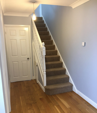 Hallway, stairs and landing repaint